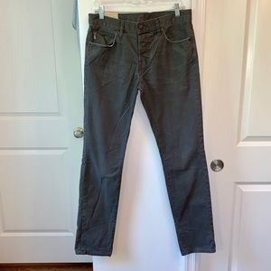Men's Abercrombie & Fitch Gray Chinos